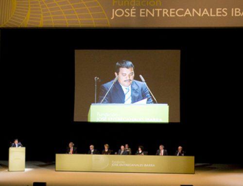 Ceremonia de entrega de los III Premios Fundación José Entrecanales Ibarra