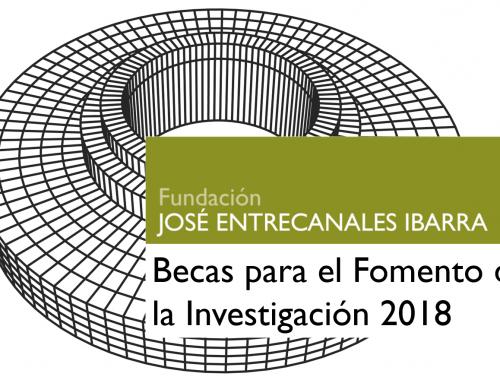 Concesión de Becas de Investigación 2018
