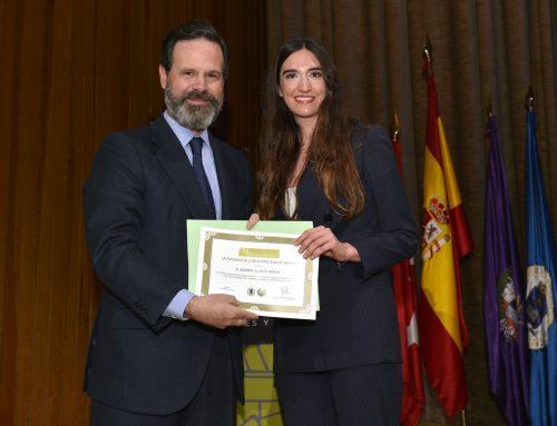 Entrega del Premio a la Mejor Tesis leída por un Ingeniero de Caminos, Canales y Puertos